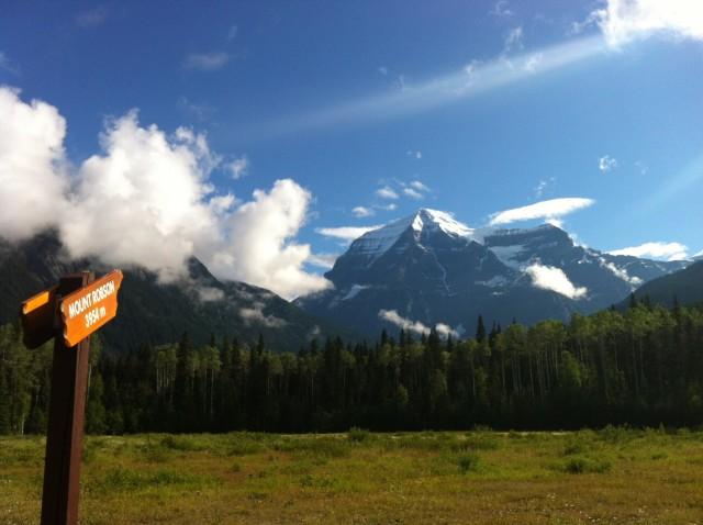 2015年7月1日 カナディアンロッキー最高峰 マウントロブソン